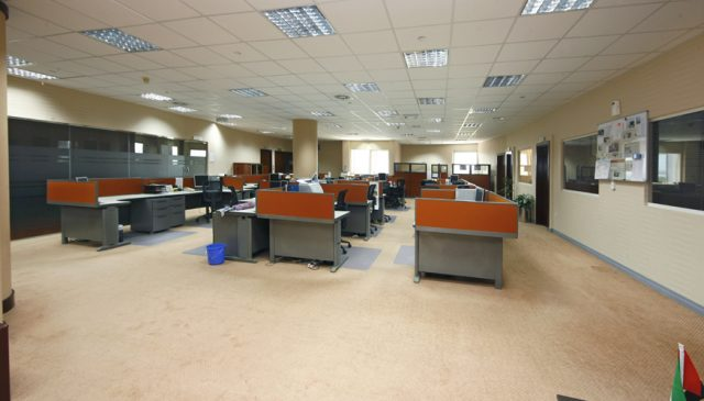Office Renovation work Al Habtoor Office Dubai