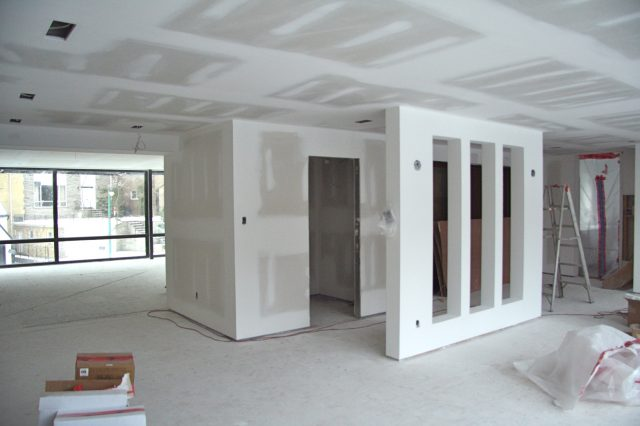 Gypsum Partition Work